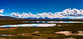 Lake of the Tibetan Plateau Stock Image