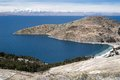 Lake Titicaca in Bolivia Royalty Free Stock Photo