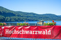 Lake titisee black forest germany boat Royalty Free Stock Photo