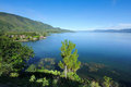 Lake toba indonesia view of Stock Photos
