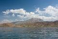 Lake van in eastern turkey Royalty Free Stock Photo