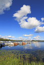 Lake Vanajavesi Royalty Free Stock Photography