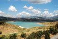 Lake Vinuela, Andalusia, Spain. Royalty Free Stock Photography