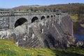 Lake Vyrnwy Dam - Powys - Wales - UK Royalty Free Stock Photo