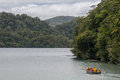 Lake Waikareiti. Te Urewera National Park Royalty Free Stock Photo
