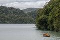 Lake Waikareiti. Te Urewera National Park Royalty Free Stock Photo