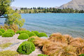 Lake Wakatipu, New Zealand Stock Photo