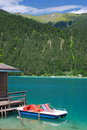 Lake Weissensee,Carinthia,Austria Royalty Free Stock Photos
