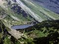 Jazero v západnej Tatry