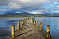 Lake Windermere in Cumbria, England Royalty Free Stock Image