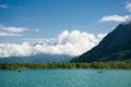 Lake zell in the alps austria Stock Images
