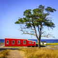 Lakefront in Glen Arbor Royalty Free Stock Photo