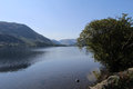 The lakes at cumbria scenic view of windermere Royalty Free Stock Photo