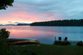 Lakeside Scene In The Adironda...