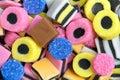 Lakritze-Bonbons Lizenzfreie Stockfotos