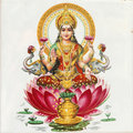 Lakshmi goddess Royalty Free Stock Photo
