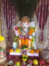 Lal baug ganpati Royalty Free Stock Photo