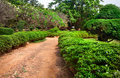 Lalbagh botanical garden in Bangalore Stock Images