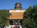 Lama temple Beijing Royalty Free Stock Image