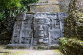 Lamanai mayan ruins in belize central america Stock Photos
