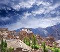 Lamayuru Gompa in Ladakh, North India Royalty Free Stock Photo