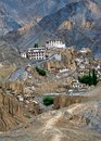 Lamayuru monastery at hymalaya india ladakh buddhist heritage temple highland gompa Stock Images