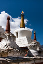 Lamayuru monastery stupa, Ladakh, India Royalty Free Stock Photo