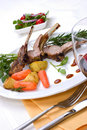 Lamb chops Royalty Free Stock Images