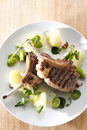 Lamb Cutlets Royalty Free Stock Photo