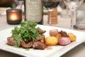 Lamb dish Royalty Free Stock Photo