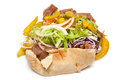 Lamb Doner kebab Royalty Free Stock Photos