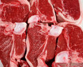 Lamb loin chops Royalty Free Stock Photos