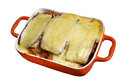 Lamb moussaka Royalty Free Stock Photo
