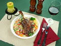 Lamb Shank Stock Photography