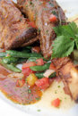 Lamb shank Royalty Free Stock Image