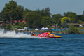 Lamb Weston Columbia Cup hydroplane race Royalty Free Stock Image