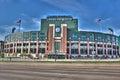 Lambeau Field in Wisconsin