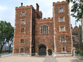 Lambeth palace london home of the archbishop of canterbury Stock Photography