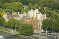 Lambeth Palace viewed from above Royalty Free Stock Images