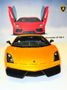 Lamborghini aventador lp 700-4 Royalty Free Stock Photography