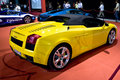 Lamborghini Galliardo Convertible - Rear - MPH Stock Images