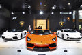Lamborghini on the guangzhou international automobile exhibition Royalty Free Stock Image