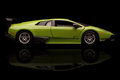 Lamborghini krivoy rog ukraine jan toy murcielago on black backgrond saturday january Royalty Free Stock Photos
