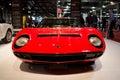 Lamborghini miura milano autoclassica Fotos de archivo libres de regalías