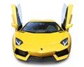 Lamborghini Aventador Supercar- isolated Royalty Free Stock Photo