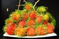 Lambutans favourite fruit thailand asia Royalty Free Stock Images