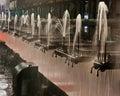 Laminar flow water cooling Royalty Free Stock Photo