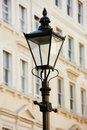 Lamp And Architecture In London