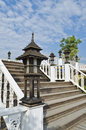 Lamp banister Royalty Free Stock Photos