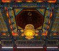 Lamp Chinese temple, Wat Leng-Noei-Yi Royalty Free Stock Photos
